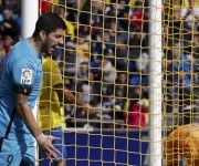 Suárez falló dos ocasiones claras. Foto: RTRPIX.