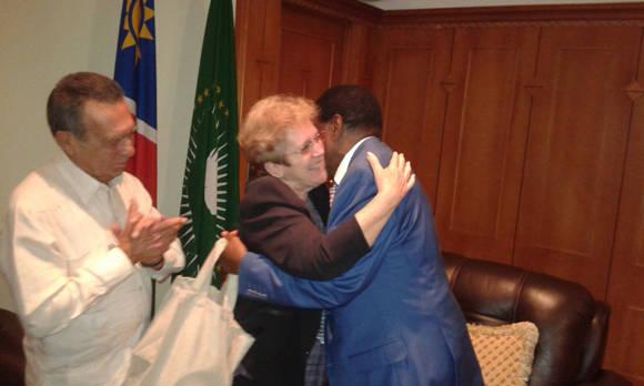 Vicepresidente de Namibia recibió a Ministra cubana de la Industria Alimenticia