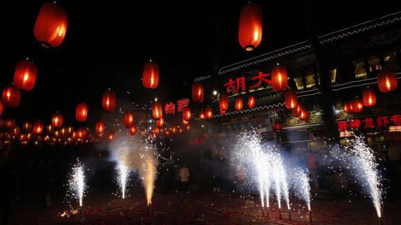 Celebración de año nuevo chino. Foto: Kim Kyung Hoon/Reuters.