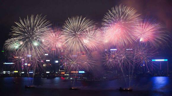 Celebración de año nuevo chino. Foto: Tyrone Siu/Reuters.