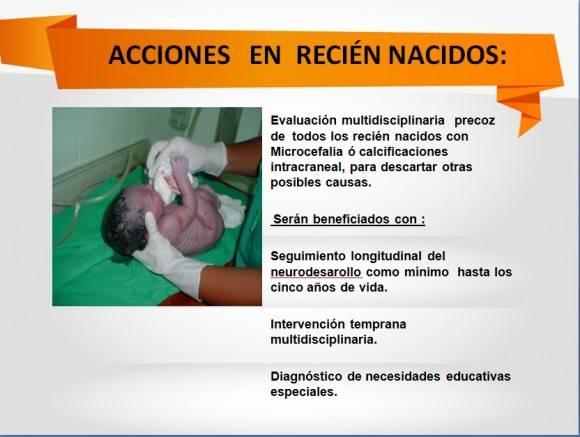 acciones en recién nacidos