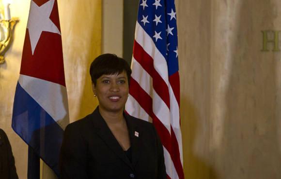 La Alcaldesa de Washington ofreció Conferencia de Prensa en La Habana, 22 de febrero de 2016. Foto: Ismael Francisco / Cubadebate