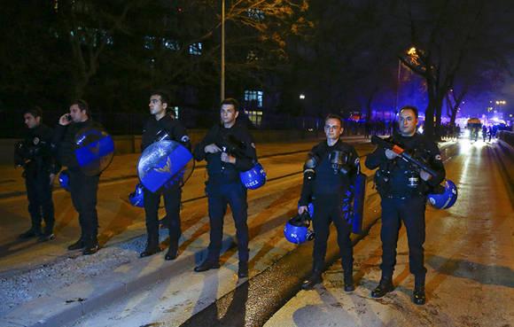 La explosión se escuchó en muchas áreas de la capital turca. Foto: Reuters.