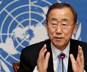 Ban Ki-Moon, Secretario General de las Naciones Unidas.