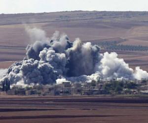 """Los bombardeos de la aviación estadounidense han ocasionado muertes """"accidentales"""". Foto: Archivo."""
