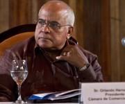Orlando Hernandez Preasidente de la Camara de Comercio de Cuba. Foto: Ismael Francisco/Cubadebate.