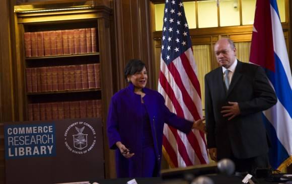Estados Unidos y Cuba instalan hoy en Washington su segundo diálogo regulatorio en el Departamento de Comercio de EEUU. Foto: Ismael Francisco/ Cubadebate