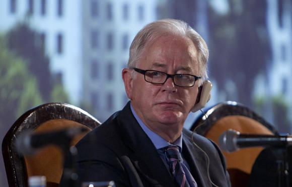 Andrew Robb, enviado especial para el Comercio del gobierno de Australia. Foto: Ismael Francisco/Cubadebate.