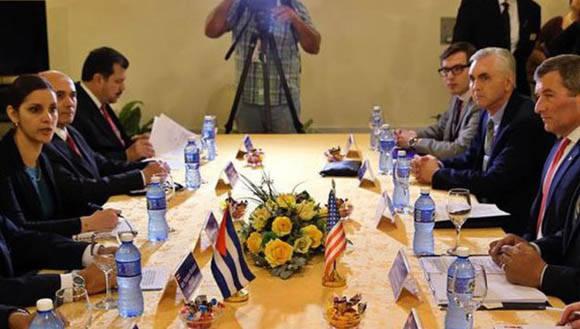 Las delegaciones acordaron continuar con este tipo de reuniones. Foto: La Tribuna.