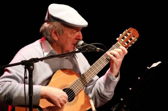 El cantautor uruguayo Daniel Viglietti. Foto tomada de hoyvenezuela.info