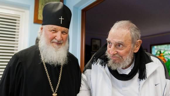 Patriarca Kirill: Fidel se emociona increíblemente cuando habla de lo que lleva en el corazón