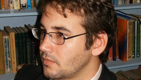 El poeta cubano Sergio García Zamora ganó el Premio Internacional de Poesía Rubén Darío 2015. Foto: Archivo.