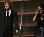 Taylor Swift ganó el premio la mejor album del año. Foto: AFP.