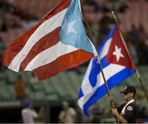 Puerto Rico y Cuba en la Serie del Caribe. Foto: AP.
