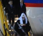 Kirill llegó a Paraguay luego de cumplir una amplia agenda de actividades en Cuba. Foto: ABC Color.