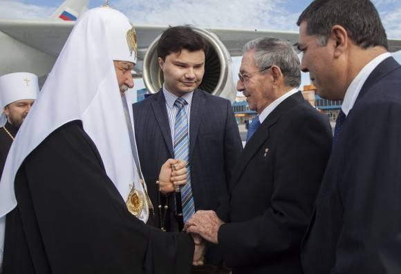 Recibió Raúl Castro a Kirill, Patriarca de Moscú y de Toda Rusia
