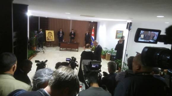 Alta tensión. Foto: Cubadebate