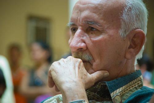 Luis Orlando Pantoja de la radio provincial villaclareña. Foto: CMHW.