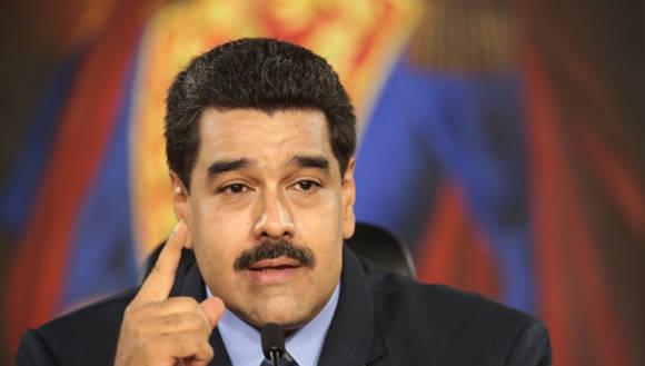El Presidente venezolano Nicolás Maduro anunció seis líneas de acción que pretenden superar la coyuntura económica. Foto: AVN.