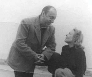 Delia del Carril y Pablo Neruda en Isla Negra en 1939. Foto: EL MUNDO