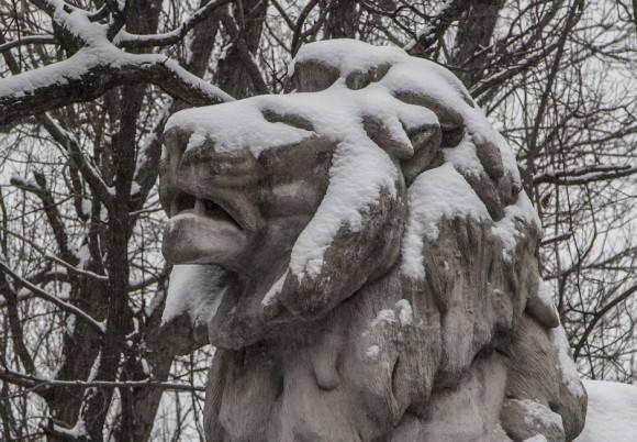 Diferentes localidades en el noreste experimentan temperaturas congelantes. En Washington, la temperatura llega a los 6 grados Celsius bajo cero y la máxima para este lunes será de 1 grado Celsius bajo cero y se pronostica que siga nevando hasta la tarde. Foto: Ismael Francisco/ Cubadebate