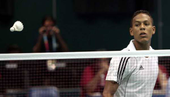 Cubano Guerrero conquista el título en Internacional de Bádminton en Chile