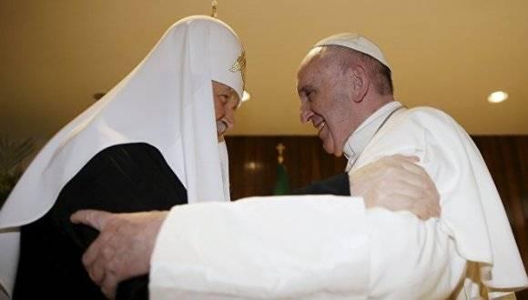 Papa reitera agrecimiento por encuentro con Patriarca Kirill en Cuba