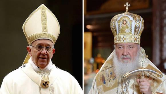 Cruzarán sus caminos en La Habana el Papa y el Patriarca Kirill