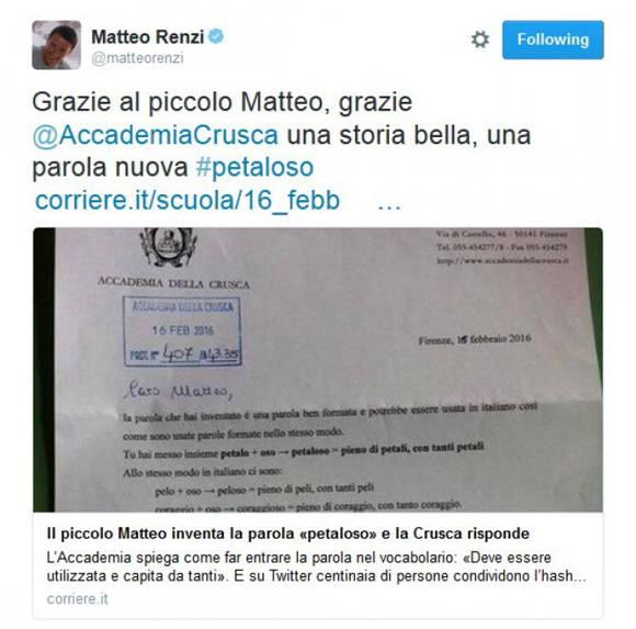 Carta recibida por Mateo de la Crusca. Foto: Repstatic.