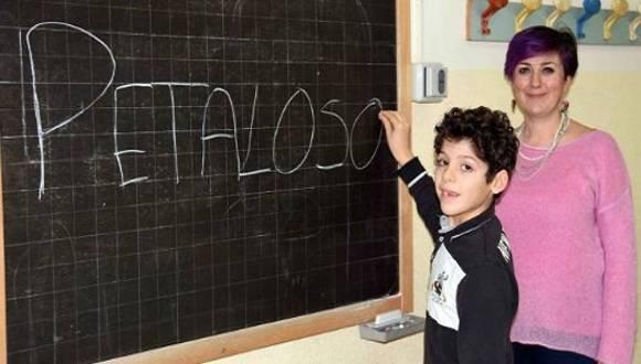 Petaloso, la palabra creada por el niño italiano. Foto: Kaloo.ga