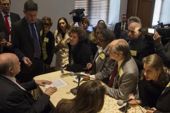 Rodrigo Malmierca en Conferencia de Prensa. Foto: Ismael Francisco/ Cubadebate