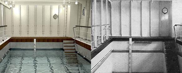 La nueva versión podría tener muchos más lujos pero será fiel a la original. Por ejemplo, esta pequeña piscina. Foto: Bluestarline.