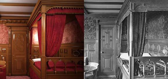 Las habitaciones. Foto: Bluestarline.