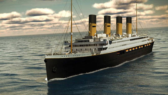 El Titanic II estará listo en 2018. Foto: Bluestarline.