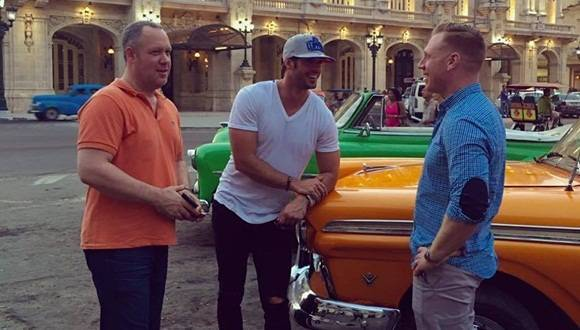 William levy en La Habana