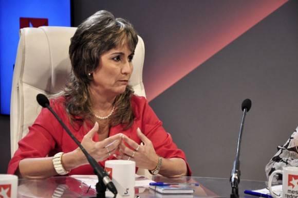 Grisell Tristá Arbesú, Jefa del Grupo de Perfeccionamiento de Entidades  de la Comisión de Implementación y de Desarrollo.
