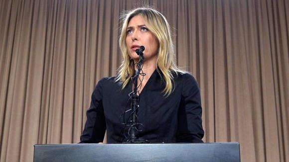 Maria Sharapova en reciente conferenia de prensa declaró que consumía ese fármaco para tratar su diabetes. Foto: AFP: