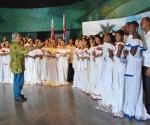 Integrantes de la Academia Nacional de Canto Mariana de Gonitch. Foto: Tomada de Juventud Rebelde