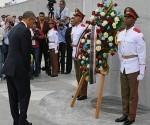 Barack Obama rinde homenaje a Martí