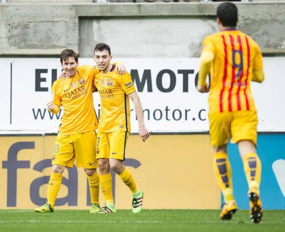 El Barcelona es líder con 72 puntos, seguido por el atlético con 64 y el Madrid con 60. Foto: Juan Manuel Serrano Arce/Getty Images.
