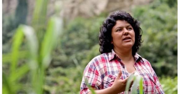 Honduras: Repudian asesinato de la líder indígena y social Berta Cáceres