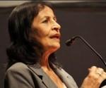 Carmen Bohórquez, Coordinadora General de la Red de Intelectuales, Artistas y Movimientos Sociales en Defensa de la Humanidad. Foto: Archivo.