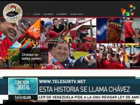 Chavez telesur