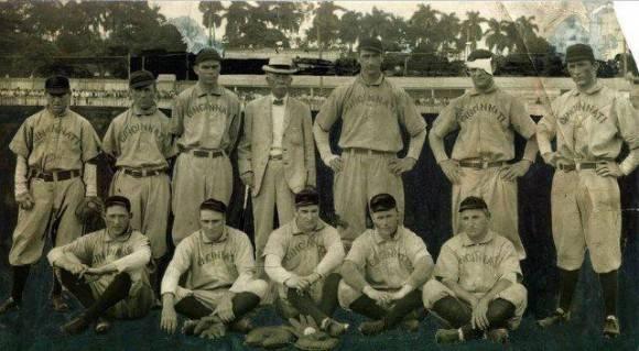 Cincinnati Reds en Cuba (1908)
