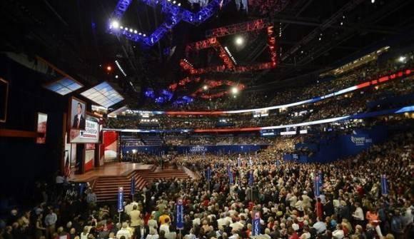Imagen correspondiente a la Convención Nacional Republicana de 2012. Foto: EFE.