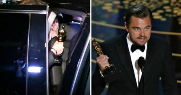 DiCaprio olvida el Oscar