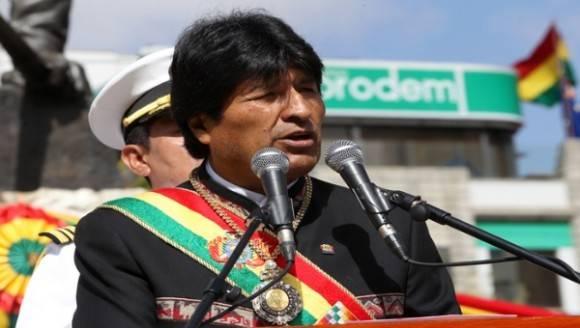 Evo Morales, presidente de Bolivia. Foto: ABI.