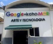 Google + Kcho.Mor. Foto: L Eduardo Domínguez