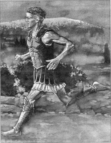Grabado de Filípides. Foto: Archivo.