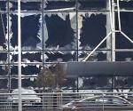 Imagen resultado de las explosiones en el aeropuerto de Bruselas